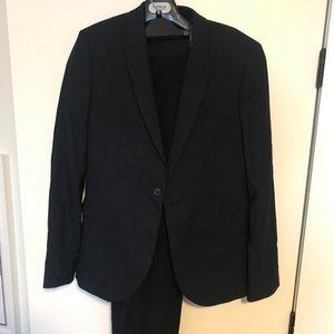 Topman men's navy suit - skinny fit